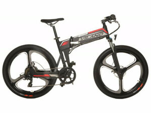 "Vilano Electric Folding Bicycle Bike 26"" Mag Wheels E-bike New"
