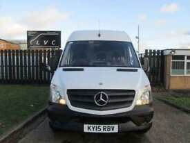 2015 15 MERCEDES-BENZ SPRINTER 2.1 313CDI LWB HIGH ROOF 129 BHP. MERCEDES WARRAN