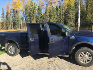 2008 Ford F-150 SuperCrew Pickup Truck 98000kms
