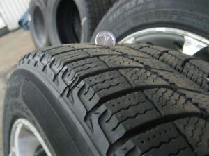 4  Mags et pneus d'hiver Michelin