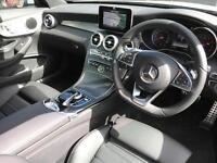 Mercedes-Benz C Class C 200 AMG LINE (white) 2017-05-30