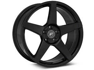 Forgestar CF5 Piano black. Mustang. 5x114.3 staggered 19x9/10
