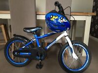 "SCHWINN 16"" Metallic Blue Kids Bike / children's Bicycle"