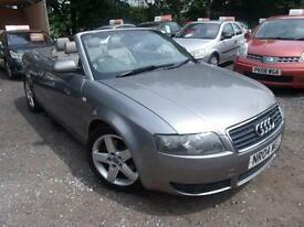2004 Audi A4 2.4 Sport 2dr Multitronic 2 door Convertible