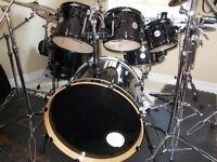 PDP CONCEPT MAPLE 7 PIECE DRUMS + NEW GATOR CASES