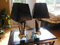 Beautiful Black Lamps