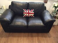 2x 2 Seater Leather Sofa's for Sale £230