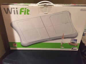 Nintendo Wii fit console /software etc