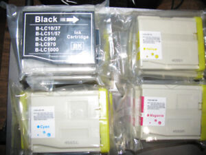 NEW LC-51 INK CARTRIDGES FOR BROTHER PRINTER