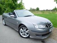 2007 Saab 9 3 2.0T Aero Anniversary 2dr Sat Nav! Heated Seats! 2 door Conver...
