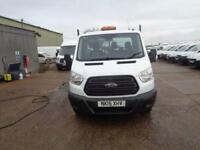 Ford Transit 2.2 Tdci 125Ps TIPPER DIESEL MANUAL WHITE (2015)
