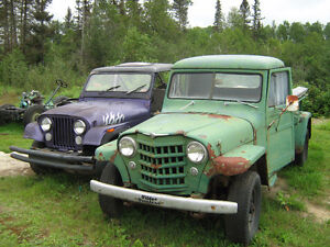 Jeep willys 1956