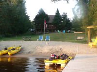 Waterfront Location with Sandy Beach in Magnetawan,
