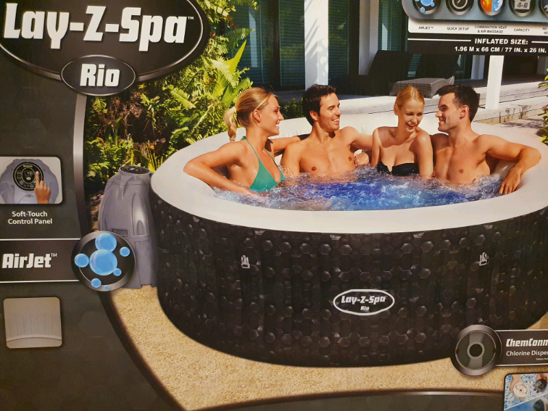 Lay Z Spa Rio 4 6 Person Hot Tub In Newcastle Under Lyme