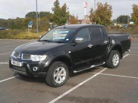 2011 MITSUBISHI L200 BARBARIAN 2.5DI-D CR 4WD LONG BED DOUBLE CAB PICK UP TRUCK