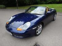 2001 Y Porsche Boxster 2.7 24V Manual Petrol In Blue