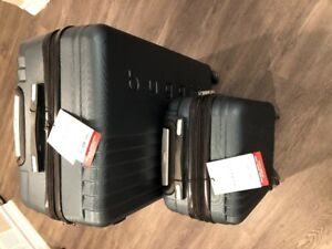 "Bugatti 2-Piece Hard Side Expandable Luggage Set 22"" & 28"""