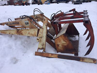 Front End loader for 60hp or smaller tractor