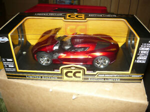 """Still Available"" 1:18 die cast 2009 Corvette Stingray Concept"