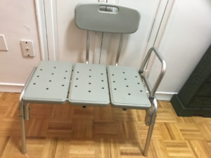Safety Transfer Bench For Bathroom