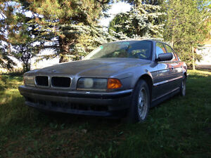 1995 BMW 740i -Parts car - not working