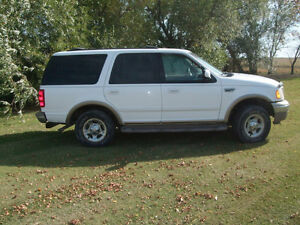 2000 Ford Expedition Eddie Bauer Edition SUV, Crossover