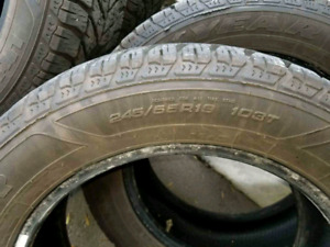 Very great condition winter tires to sell