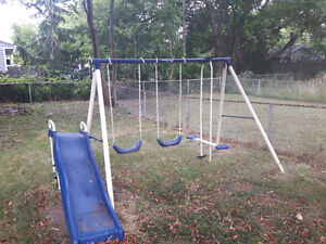 Children`s Swing Set