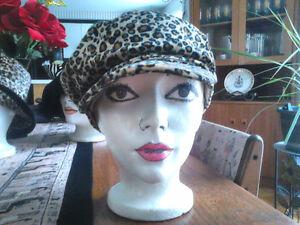 Ladies Cute Leopard Print Hats West Island Greater Montréal image 3