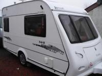 Elddis Avante 362 2 Berth Caravan 2008 Model 1 owner from new