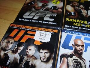 """15 UFC dvds ***BRAND NEW*** trade for 17"""" Rims and Tires London Ontario image 3"""