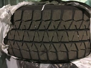 4 x BMW WINTER TIRES AND MAGS 215/55/R17