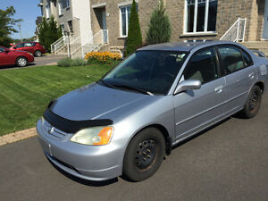 2002 Honda Civic LX-G Berline