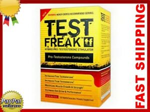 TEST FREAK 120 CAP. PHARMA - INCREASES TESTOSTERONE, SEX DRIVE & PERFORMANCE