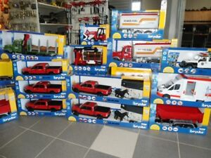 BRUDER TOYS OVER 150 NEW ITEMS