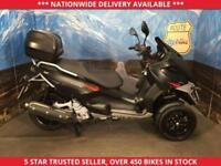 GILERA FUOCO 500 LT 3 WHEEL SCOOTER TOP BOX FSH 1 OWNER 2014 14