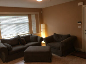 2 bedroom suite, full laundry, all utilities included
