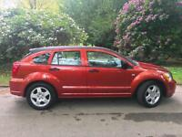 2007 56 Dodge Caliber 4x4 2.0TD SXT, LEATHER,TowBar,84kmiles,Family Business
