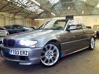 2003 BMW 3 Series 2.5 325Ci Sport Convertible 2dr Petrol Automatic (239