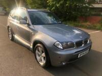 BMW X3 3.0i auto SE. ONE OWNER FROM BRAND NEW! FULL SERVICE HISTORY. PANO ROOF.