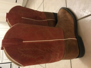 Cowboy boots (leather)