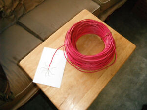 TWN Red 7 STD wire approx. 300 ft.