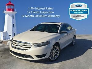 2016 Ford Taurus Limited   172 Point Inspection
