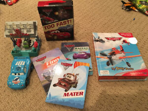 Disney Cars and Airplanes-books and accessories