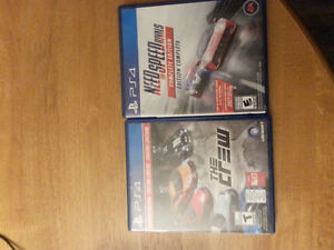 PS4 THE CREW NEED FOR SPEED RIVALS