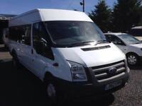 Ford TRANSIT 135 T430 62 reg 17 seater minibus