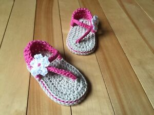Crocheted Sandals by A-Z Crochet