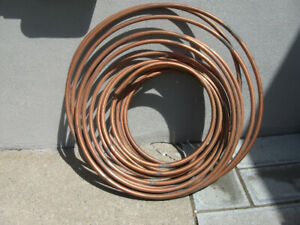 Tuyau de cuivre flexible