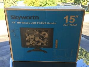15  Dual Voltage TV with DVD player