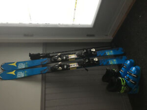 Ensemble skis alpins junior
